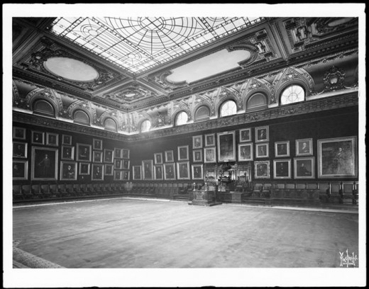 Title: New York Chamber of Commerce, assembly room. Date: 1900