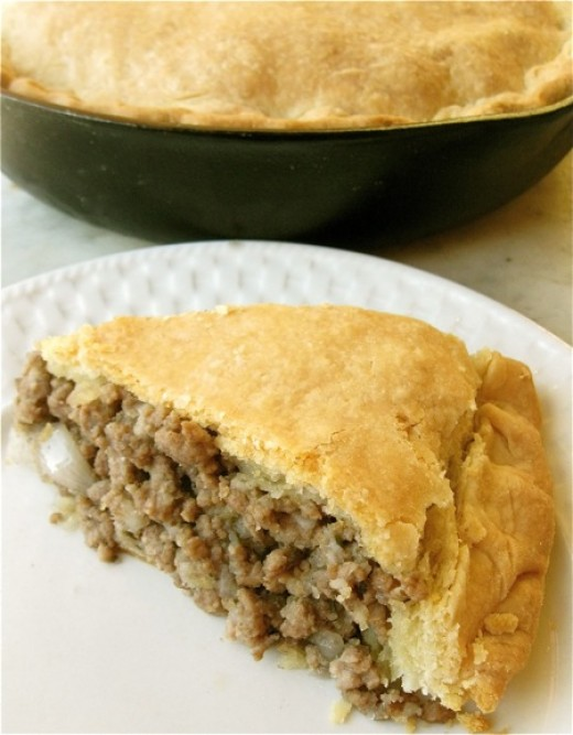 Traditionally served during the holidays, French Canadian Meat Pie makes a great winter meal