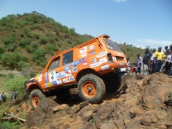 Kenya Rhino Charge: A gruelling rally raid for a worthy cause