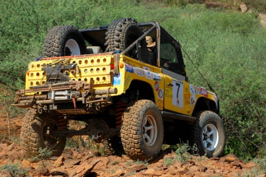 4WDs do well in Rhino Charge