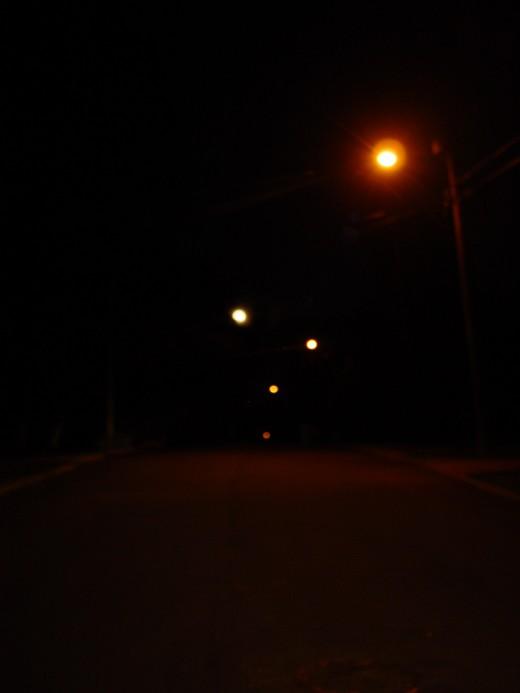 A dark night in December