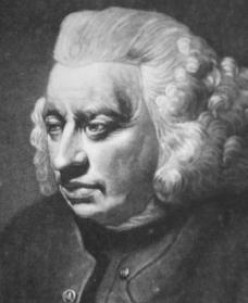 Quotes by Samuel Johnson his wife and death.