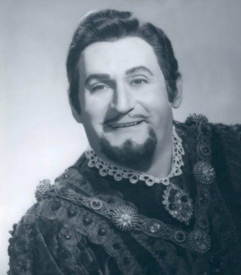 Richard Tucker in Rigaletto