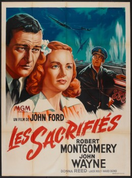 They Were Expendable (1945) French poster