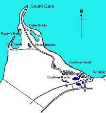 South Gare at the western end of Tees Bay