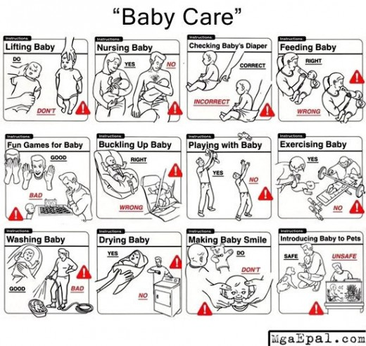 Baby Care 101...that's NOT how you do it!