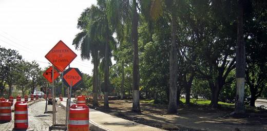 Canovanas last minute road work