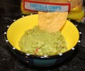 GOOD FOOD CHEAP: Easy Guacamole with Plum Tomato and Red Onion