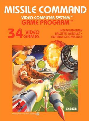 Atari 2600 Box Art