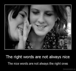 What Are The Right Words?