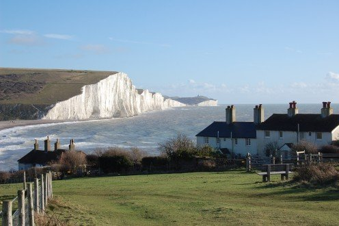 The Seven Sisters cliffs, Sussex, England, UK.