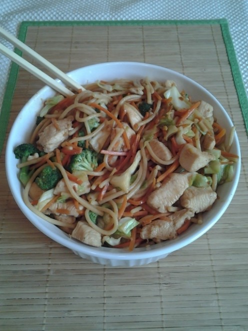Healthy Stir-Fry Chicken