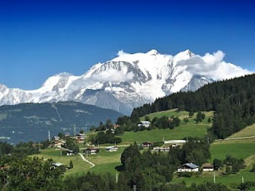 La Dame Blanche - Mont Blanc