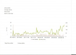 Daily HubPages Traffic - 9 Months