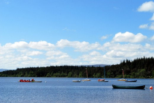 Sailing and windsurfing are also available in the Cairngorms National Park