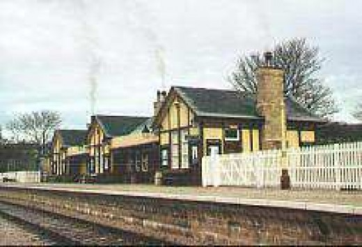 Bolton Abbey Station near Skipton