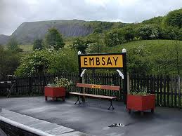 Midland Railway styled Embsay station bench