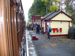 Damems Station on the Keighley & Worth Valley Railway (K&WVR)
