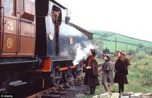 The Railway Children filmed on the K&WVR in 1970