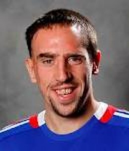 Ribery Is a Fast Runner