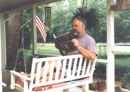 The Dream - researching material for your novel while lazily swinging on the front porch swing.