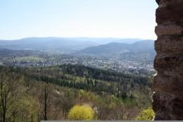 Baden-Baden from the Castle