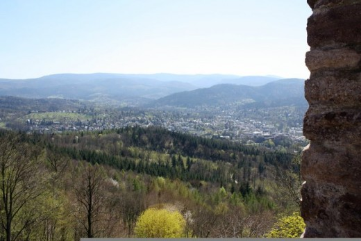 Baden-Baden from the Castle