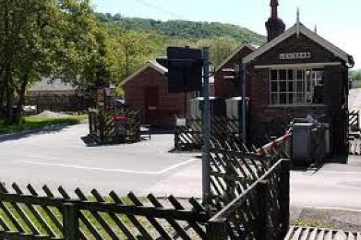 Levisham Station, halfway to Pickering along Newtondale