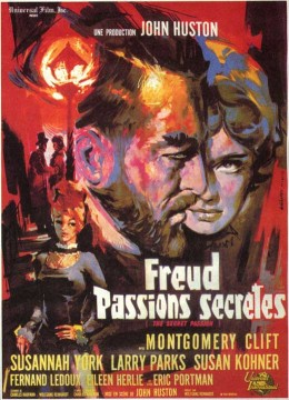 Freud (1962) French poster