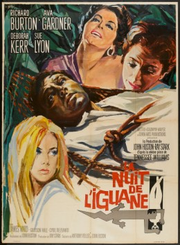Night of the Iguana (1964) French poster