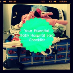 Essential Newborn Diaper Baby Hospital Bag Checklist - What Things Expecting Mothers Should Pack
