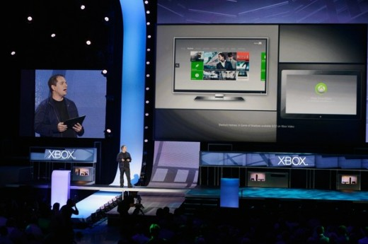 Xbox Live executive Marc Whitten introduces SmartGlass Technology at E3.