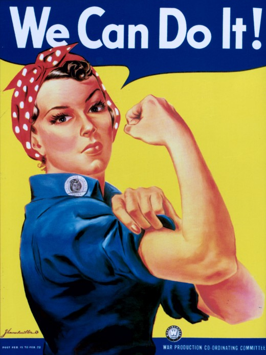WWII Poster - Rosie the Riveter