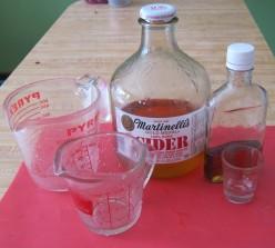 Combining Blessings: Apple Cider Vinegar/Pure Honey
