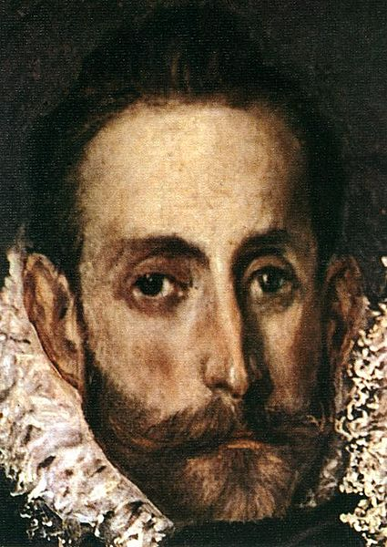 El Greco's self-portrait in The Burial of the Count Orgaz