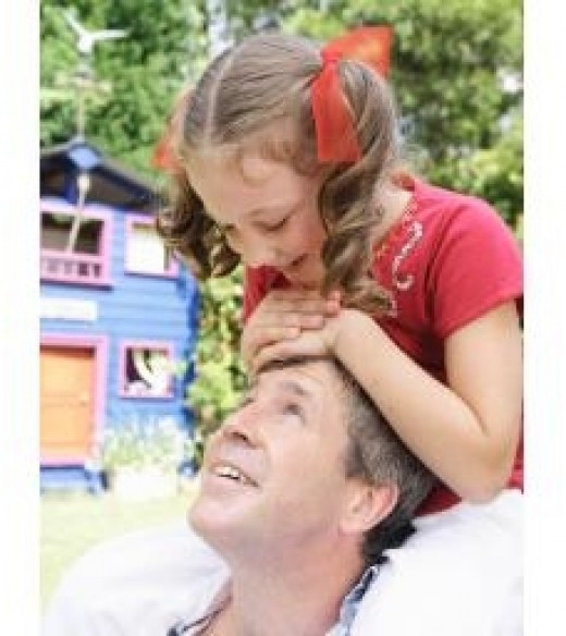 Daddy's little girl.