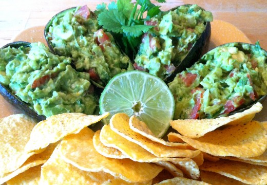 Serve in avocado shells!