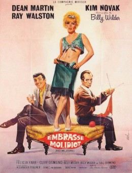 Kiss Me, Stupid (1964) French poster