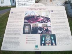 Historical panel, Church of St. Paul