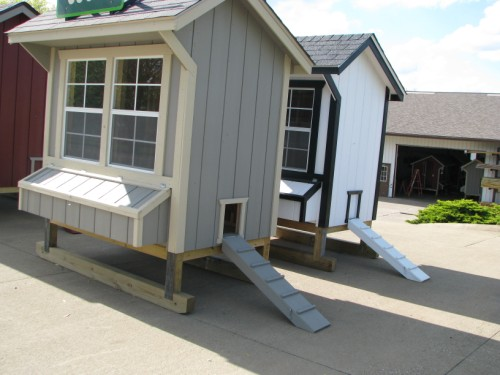 Ready Made Fixed Chicken Coops from Cottage Craft Works.