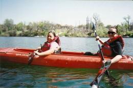 Kayaking on Town Lake in Austin
