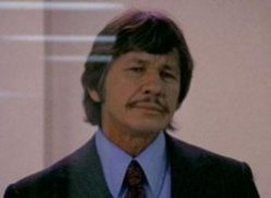 """CHARLES BRONSON who starred in the """"Dirty Dozen"""" and """"The Great Escape."""""""