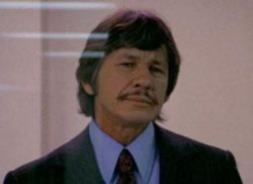 "CHARLES BRONSON who starred in the ""Dirty Dozen"" and ""The Great Escape."""