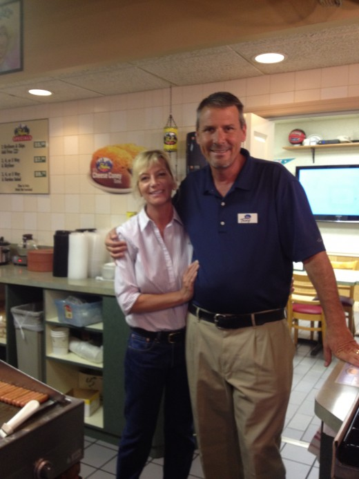 Owners Jenny and Tony Doyle