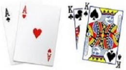 Two Pairs (aces and kings)