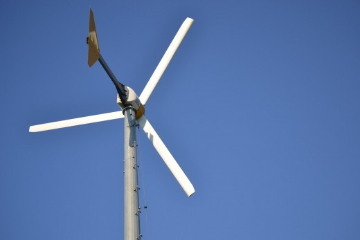 The Wind Turbine at Jockey's Ridge State Park