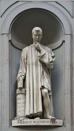 Statue of Machiavelli, Florence.