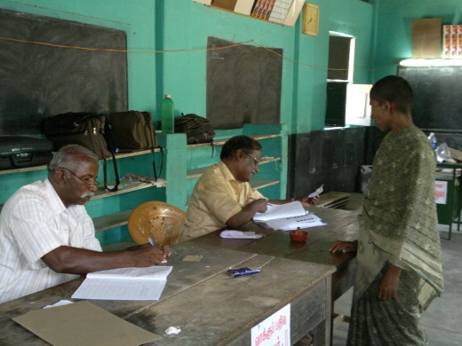 Second Polling Officer