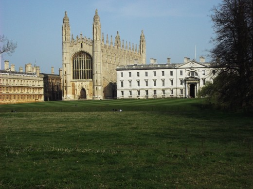 Kings College Chapel University of Cambridge When you attend a university your primary role is to 'read' to conduct your research.