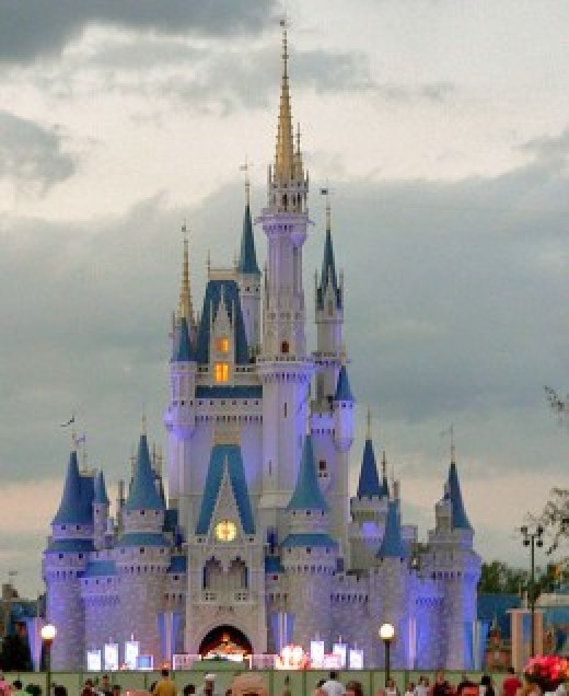 Walt Disney World, Orlando, Florida.  One of the most famous and recognizable tourist attractions in the world, the resort was founded in 1971 and is located in the Lake Buena Vista area.